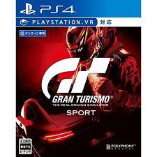 Gran Turismo Sport  VR SONY PS4 PLAYSTATION 4 JAPANESE VERSION
