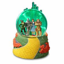 Emerald City 4 character lighted Globe - San Francisco Music Box - Wizard of Oz