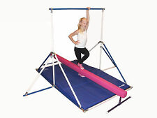 Horizontal Bar - Gymnastics Mat - Hot Pink Balance Beam combo