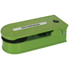 Sylvania(R) Stt008Usb Green Sylvania Pc Encoding Usb Turntables (Green)