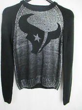 Houston Texans Shine On Sweater Women's M Touch by Alyssa Milano NFL A14