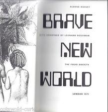 Brave New World  Aldous Huxley  Folio Socioety 1971 with slipcase