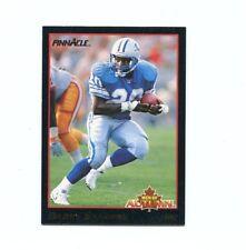 1993 Pinnacle Men of Autumn #8 Barry Sanders  carte NFL Detroit Lions