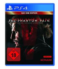PS4 Juego Metal Gear Solid V 5 - The Phantom Pain Day 1 Uno Edición Mercancía