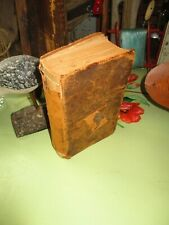 New listing Antique Rare Bible Hymns Evangelical Church Kurtz 1878 Religious Leather Aafa