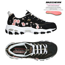 Skechers Womens Comfortable D'Lites Soft Blossom Memory Foam Trainers Sneakers