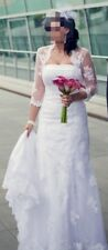 Sincerity Bridal Brautkleid Gr. 36/38 ivory Spitze