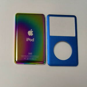 Colour Metal Back Rear Housing + Front Cover for iPod Classic 6/7th THIN