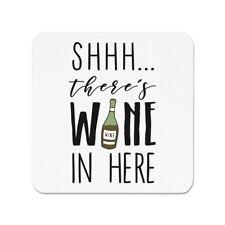 Shhh Es gibt Wein Hier rot Kühlschrankmagnet - Cocktail lustig