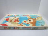 Cadaco Rudolph the Red Nosed Reindeer Board Game Complete Vintage 1977