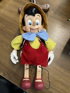 Vintage Disney Telco Christmas Pinocchio Puppet Does Work, Read Description