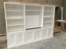 """Guildford"" Integrated Wall Unit Bookshelf TV entertainment Unit Storage Cabinet"