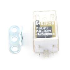 24V 3-Pin LED Flasher Relay Car Auto Turn Signal Indicator Light Flasher