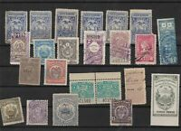 central south america  revenue stamps ref 11267