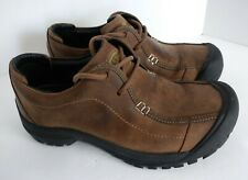 Keen Portsmouth II Dark Earth Loafer Hiking Shoe Men's Size 8 Brown Lace Up