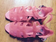 Jelly Sandals Shoes By Melissa In Coral, EU39 Gladiators Style