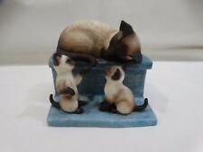 Roman Inc Figurines A Tail Two Kitties Limited Edition Signed