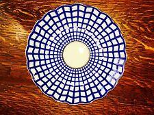 Lomonosov Porcelain Cobalt Cell Hand Painted 22 carat gold Cake Plate/Bowl