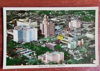 Postcard - Rochester Minnesota, Aerial View of city