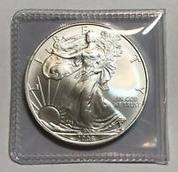 2008 1 Oz Silver American Eagle $1 (Brilliant Uncirculated)