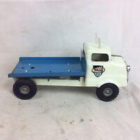 "Vintage Tinplate Push Along Tri-ang Truck / Lorry 13.5"""
