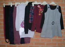 NEXT BLUEZOO M&S H&M etc Girls Bundle Jeans Tops Pinafore Dress Age 6-7 122cm
