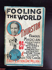 FOOLING MILLIONS - Howard Thurston-1928 - MAGIC, MAGICIANS, TRICKS