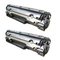 2PK NON-OEM Toner For HP 36A CB436A LaserJet P1505 P1505n M1522n M1522nf