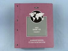 Workshop Manual, Vol. 1, '97 Lincoln Mark Vlll, Chas/Powertrain, FCS-12192-97-1