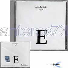 """LUCIO BATTISTI """"HEGEL"""" CD SONYBMG - SIGILLATO"""