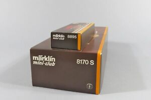 H 81677 Sammlung originalverpackter Märklin Miniclub Eisenbahnen