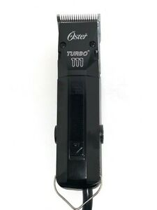 Oster Turbo 111 Hair clippers with #1 Blade and 1 FREE #000 blade FREE SHIPPING