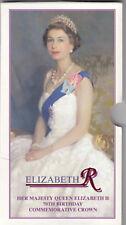 Elizabeth R 70th Cumpleaños Corona Conmemorativa
