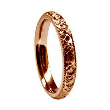 Anillos de joyería de metales preciosos sin piedras rojas en oro blanco