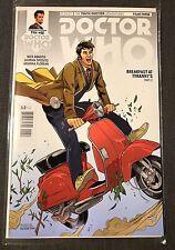 Doctor Who 10th Doctor Year Three #2 Gallifrey One Exclusive Titan Comic RARE
