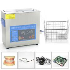 6L Pro Ultrasonic Ultraschallreinigungsgerät Ultraschall Cleaner Reiniger DEU