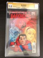 MARVEL SECRET WARS #1 CGC 9.8 SS WHITE PAGES SIGNED STAN LEE - RARE