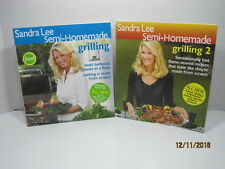 Semi-Homemade, Grilling & Grilling 2 by Sandra Lee, Lot of 2 Books