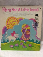 Mr Pickwick Extended Play Record, Mary Had A Little Lamb 45 RPM