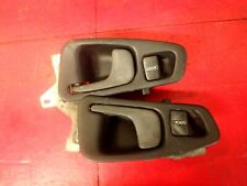 92-95 HONDA CIVIC INTERIOR DOOR HANDLE PULL LOCK DRIVER & PASSENGER BOTH COUPE