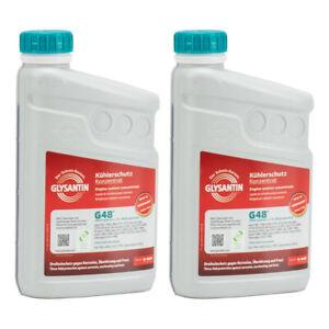 BASF GLYSANTIN Frostschutz Kühlerfrostschutz Konzentrat G48 BLAU/GRÜN 2L 2 Liter