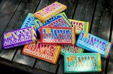 Tony's chocolonely barre de chocolat 180 g x 4 - 22 saveurs! éditions limitées t...