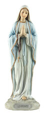 """Veronese Resin Our Lady Mary Of Lourdes Statue Studio Collection 8"""" Holy Gift"""