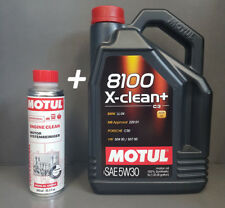 5 Litros Motul 8100 X-CLEAN + ACEITE DE MOTOR 5w30 + 1x 300ml