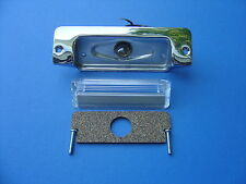 1957 CHEVROLET BEL AIR 210 150 REAR LICENSE PLATE LIGHT KIT WITH BULB-NEW