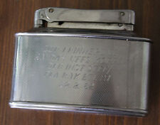 Ancien grand briquet Gravure Fla. missiles Bataillon 21/Fabricant diplomate