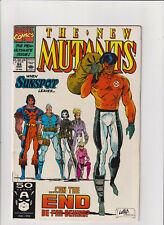 New Mutants #99 FN/VF 7.0 Marvel Comics Rob Liefeld 1st Shatterstar & Feral 1991