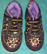 BABY/TODDLER LEOPARD PRINT SNEAKERS SZ 6 NEW