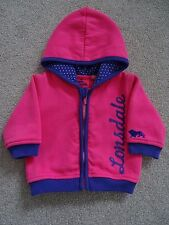 Baby Girl's Lonsdale Zipped Hooded Jacket Age 3-6 Months
