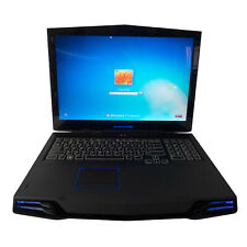"Alienware M17X 17"" Laptop Intel Core2 Quad CPU Q9000 2.00 GHz 4GB RAM 232GB HD"